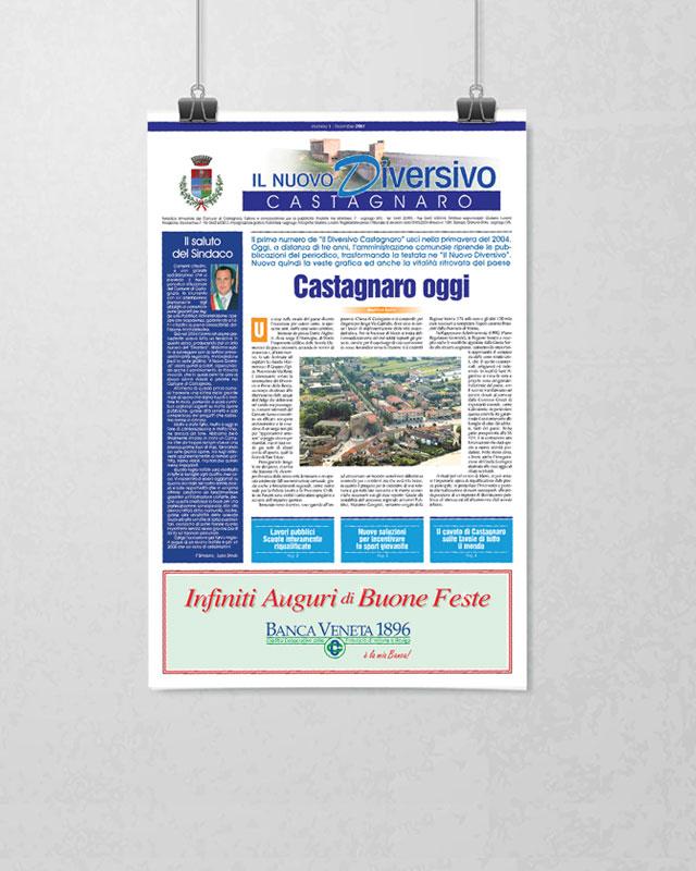IlNuovoDiversivo-bollettino-comunale-Castagnaro(VR)---Editoria-Pubblidea-Press
